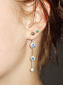 piercing oreille femme signification